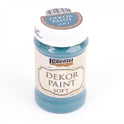 DEKOR PAINT SOFT 100ML- POISON-GREEN