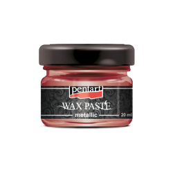Pasta ceara metalica 20 ml - wax paste - firegold