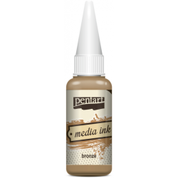 Cerneală Media Ink 20ml  - bronz