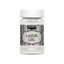 Lazura gel exterior 100ml - alb