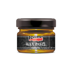Pasta ceara metalica 20 ml - wax paste - honeygold