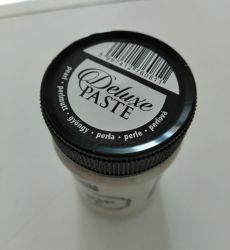 Deluxe paste 100ml - pearl white / alb sidef
