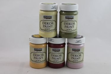 Dekor Soft Paint de 100 ml - lichen-green