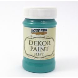 Dekor Soft Paint de 100ml - juniper green