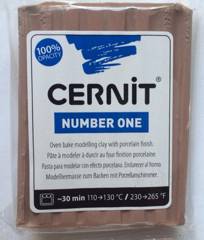 Cernit Number One 56g - taupe